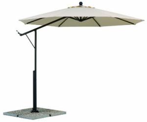 der ampelsonnenschirm gibt 39 s in rechteckig und rund. Black Bedroom Furniture Sets. Home Design Ideas