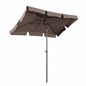 schmaler Schirm für Balkon, knickbar