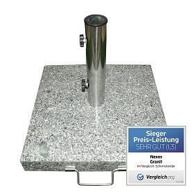 Plattenschirmstaender Granit