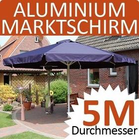 Sonnenschirm 5 m Markt